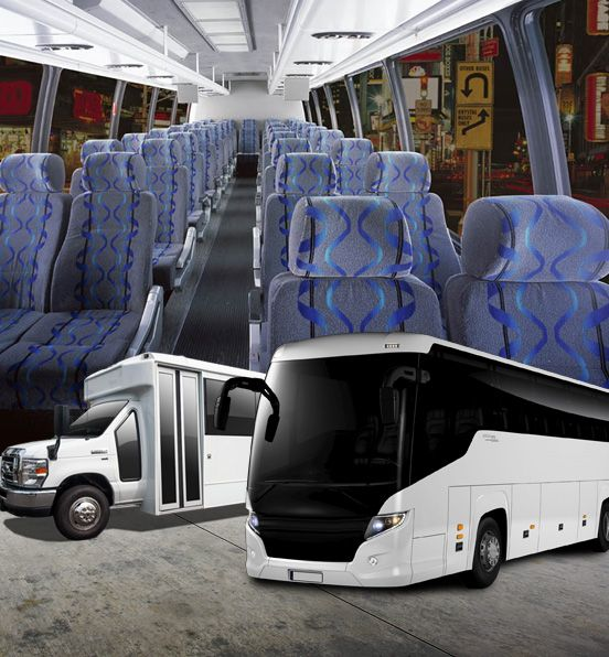 Offer Charter Bus Rental For Tour At Cheap Price With Images