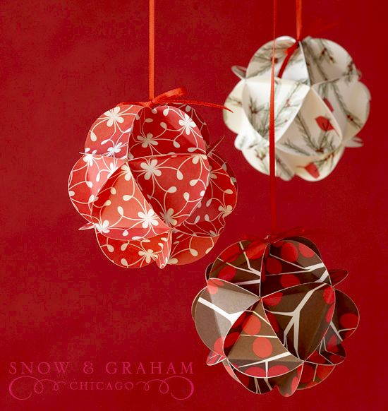 Cute paper ornaments to make with your class  FifthGradeFlock