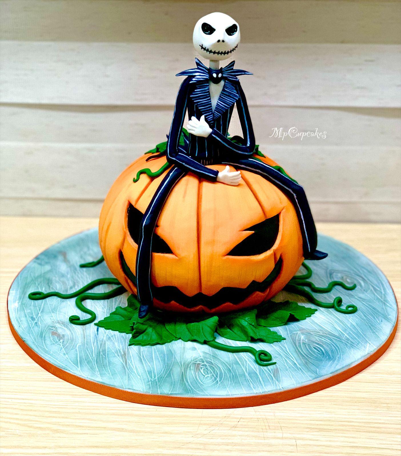 Torta Halloween Torta Calabaza Torta Jack Torta Dibujo Torta De Halloween Calabazas