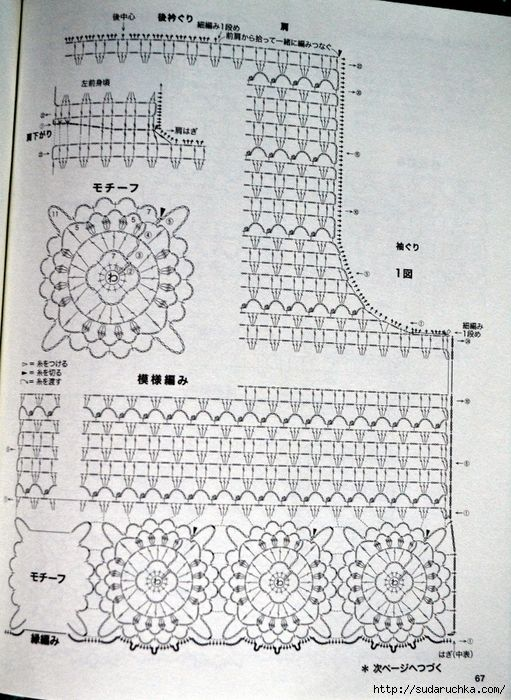 """Lets Knit Series № 80392."" Japanese Journal of knitting .. Discussion…"