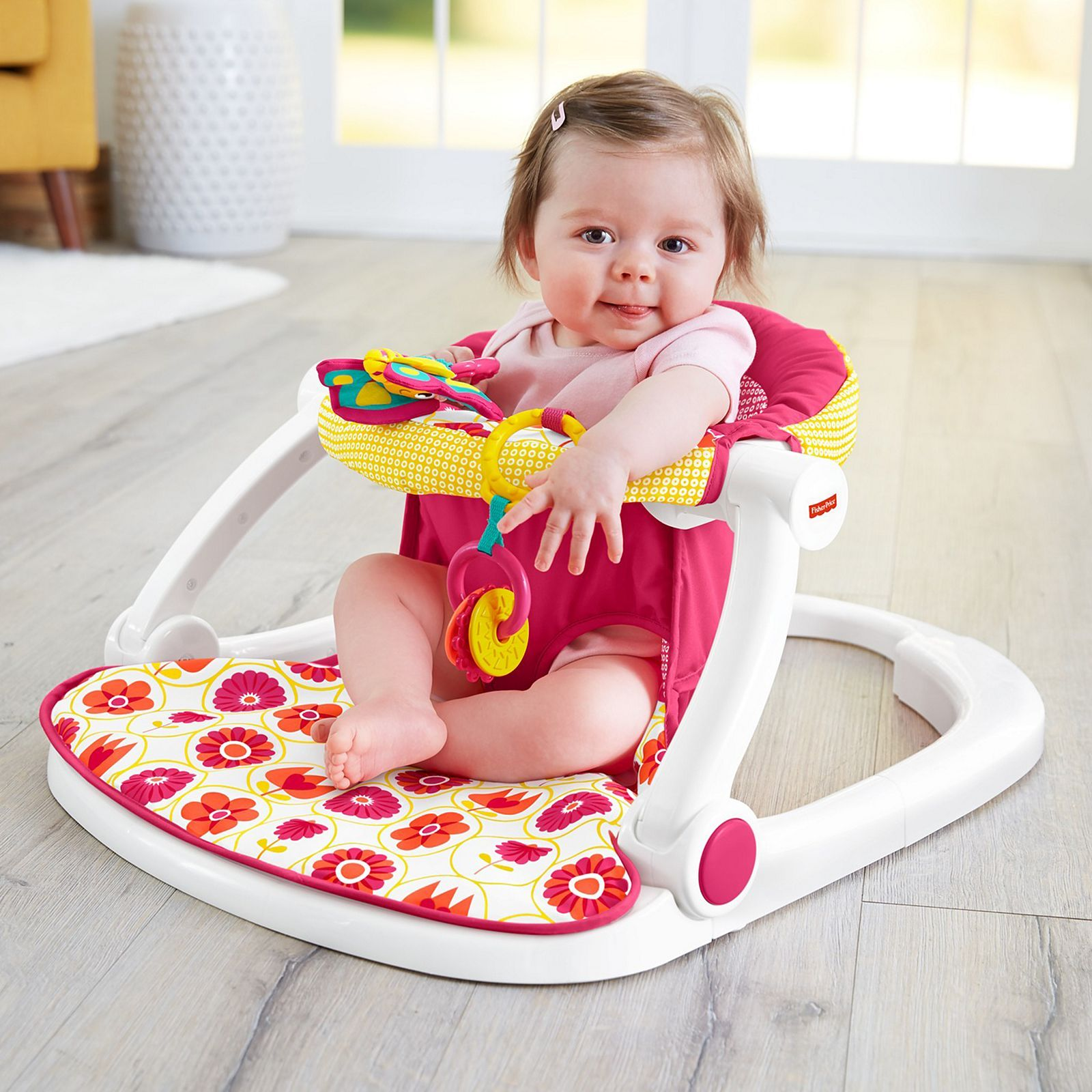 Fisher-Price Sit-Me-Up Floor Seat | DRF30 | Fisher-Price ...