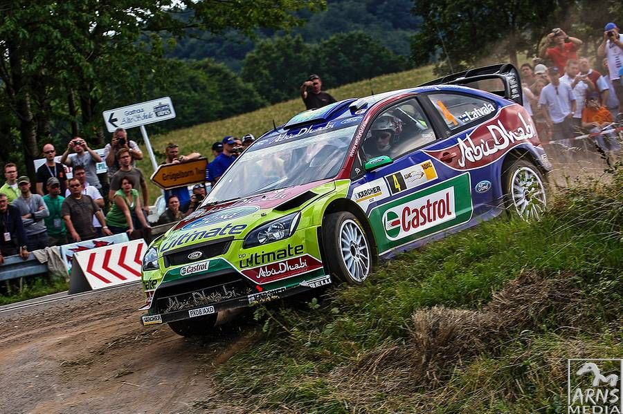 World Rally Championship 2008 Germany Ford Focus RS WRC 08 (Jari Matti Latvala)