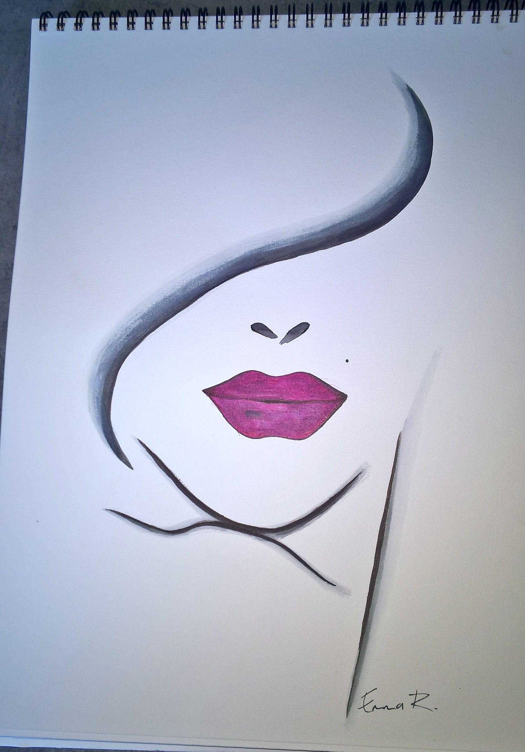 Première aquarelle. … | Pinteres…
