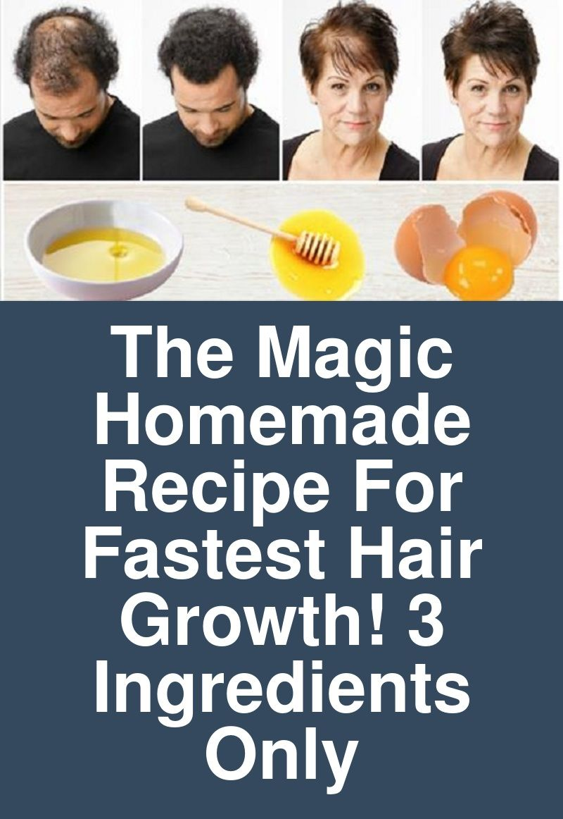 The Magic Homemade Recipe For Fastest Hair Growth 3 Ingredients