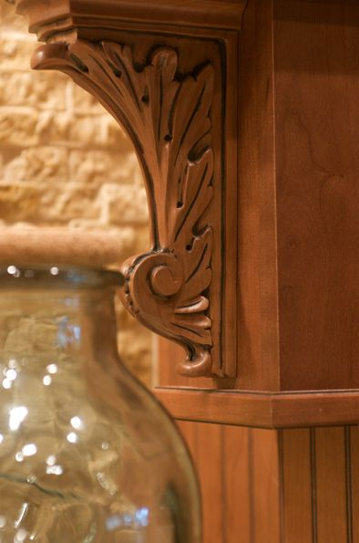 Details Like This Are On Display In The Coast Design Kitchen Bath