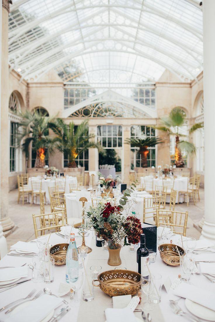 Botanical Syon Park Orangery Wedding with Etsy Wedding