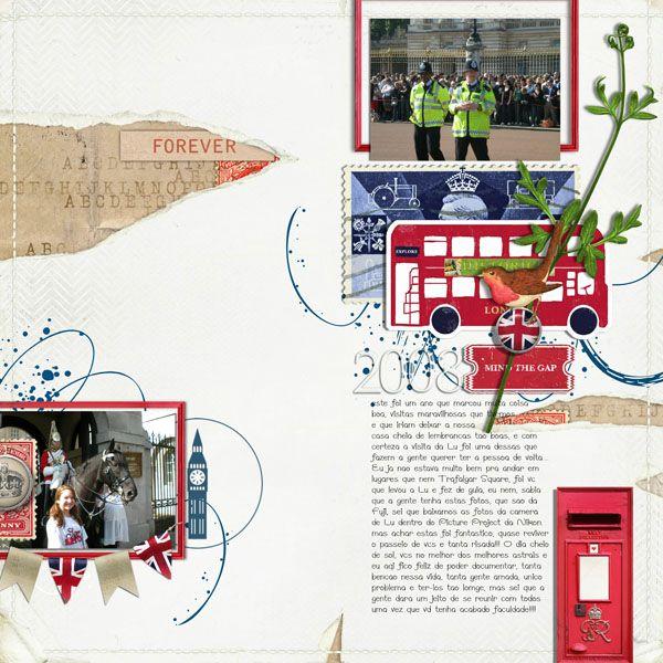 2008: Londres Com a Lu
