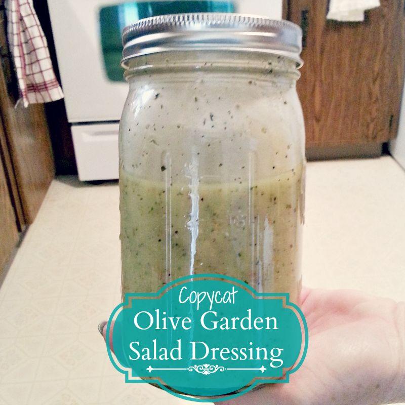 Recipe Copycat Olive Garden Salad Dressing Pluckys Second Thought Food Kopy Kat Or Tastes