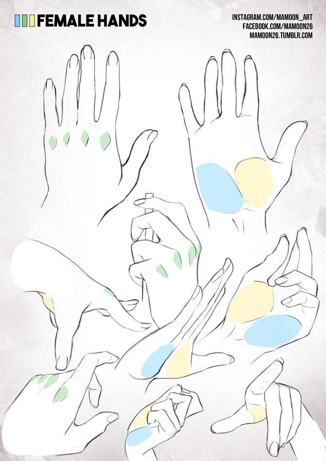 Las manos de una mujer | Arte/bocetos/tutoriales | Pinterest | Las ...