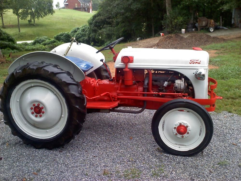 8n Ford Tractors : Ford n tractor for sale georgia outdoor news forum