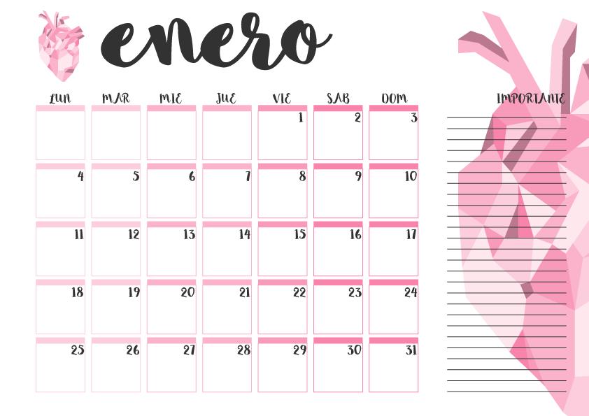 Calendario imprimible octubre 2016 - #printable | Imprimibles ...