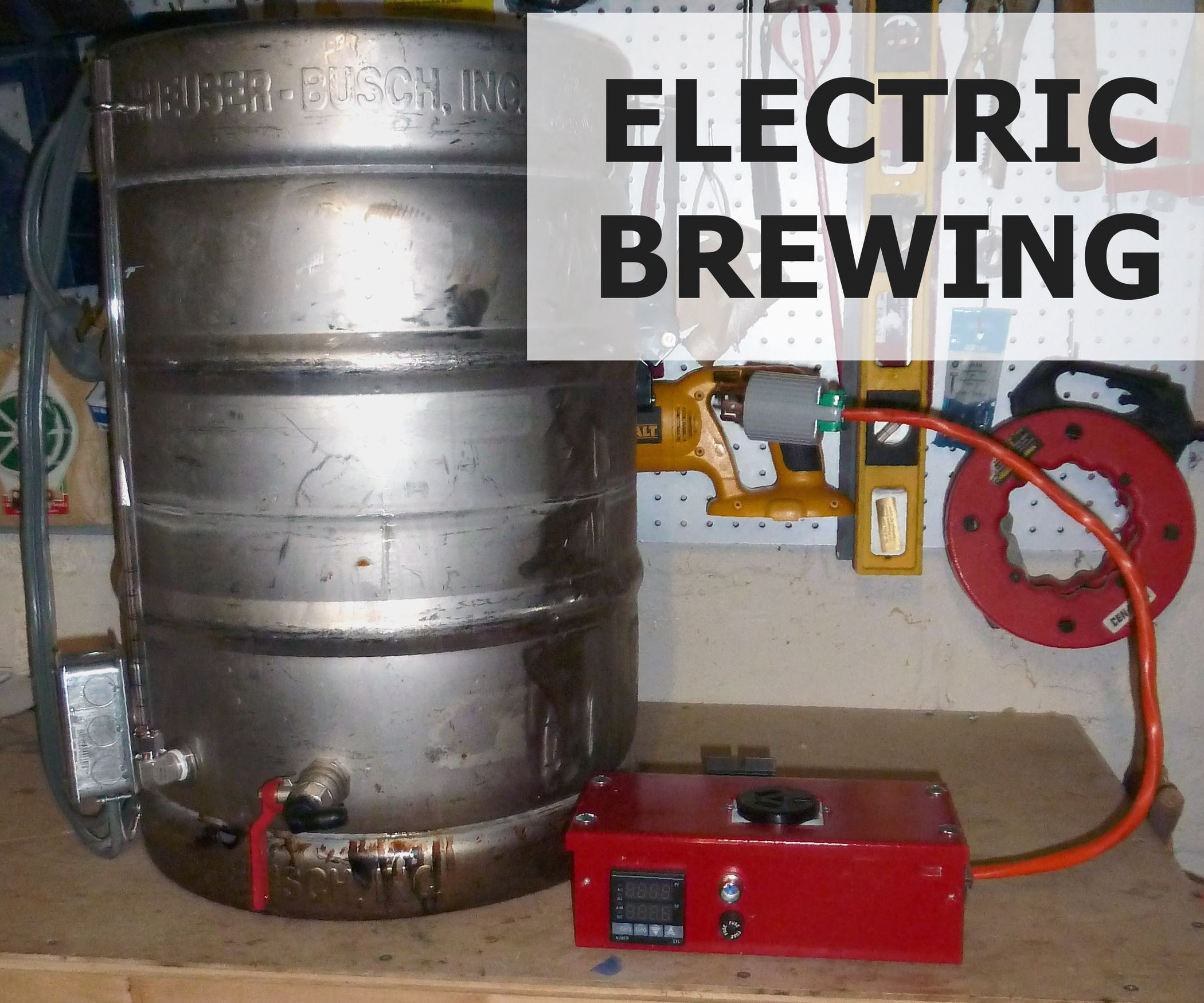 Brewing beer with electricity is a great way to both simplify and increase your level of control during the process. By adding an electric heating element directly to your kettle you can avoid the limited working space and heat output of a conventional stovetop and the space restrictions that come with a propane burner. Because the heating element is directly immersed in the water/wort, it also results in an extremely efficient transfer of heat. You'll b...