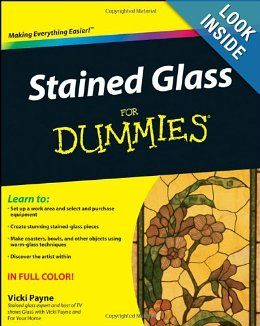 Stained Glass For Dummies, Create intricate patterns in home windows, decorate cabinet doors, patio doors, ceilings, skylights, mirrors, lighting fixtures, garden decorations, and much more. Stained Glass For Dummies provides all the information you need to express your creativity and spruce up your home with this timeless art.