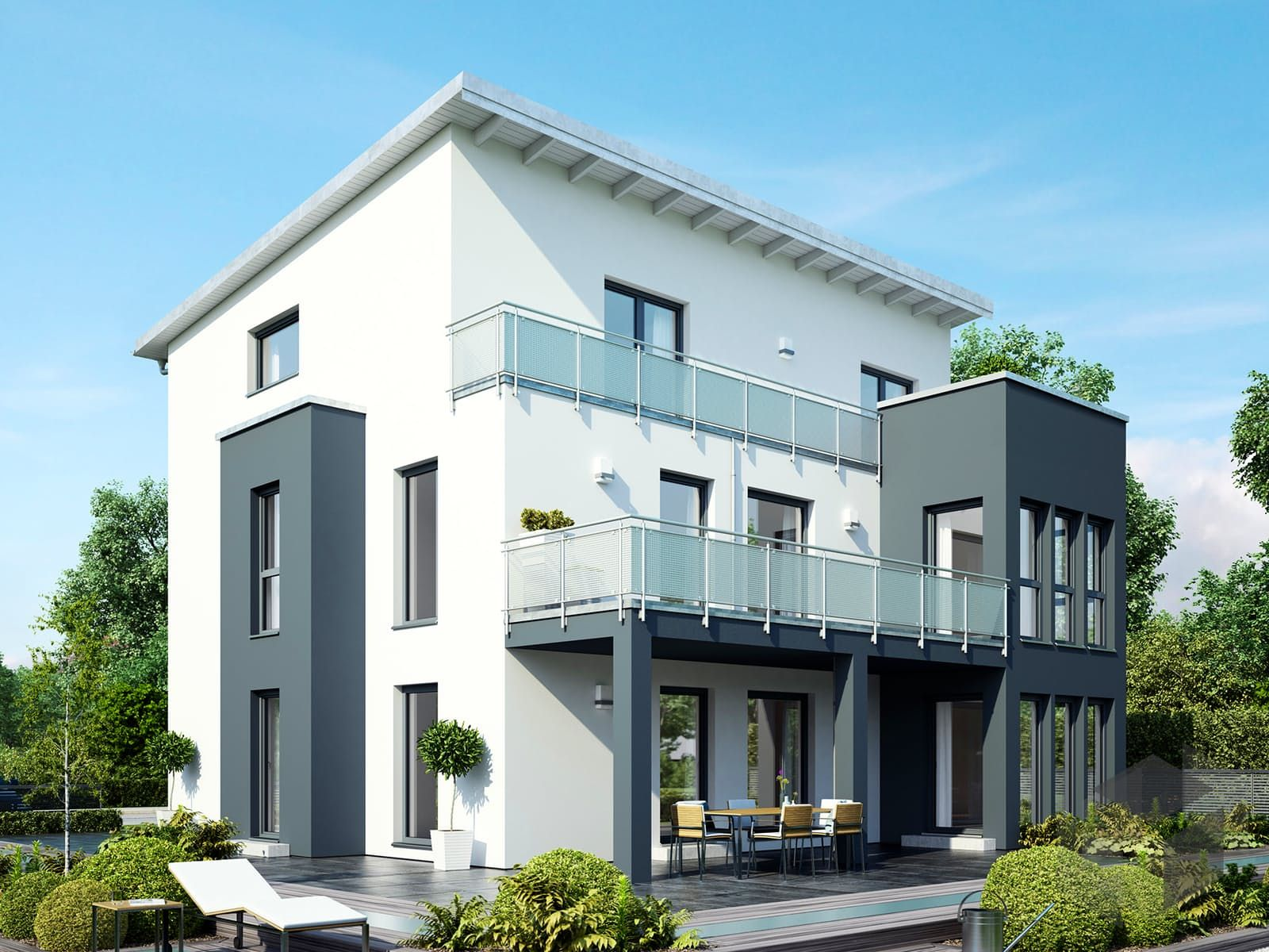 Finde eine große Auswahl an Häusern mit Pultdächern beim