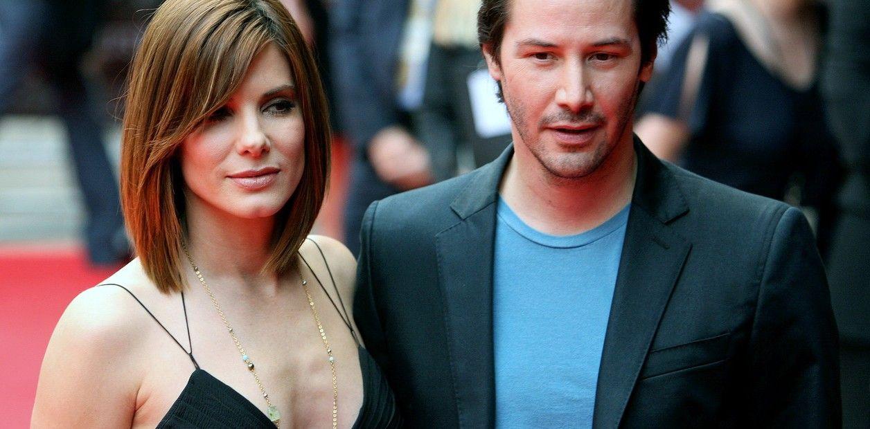 Pin em Keanu Reeves y Sandra Bullock