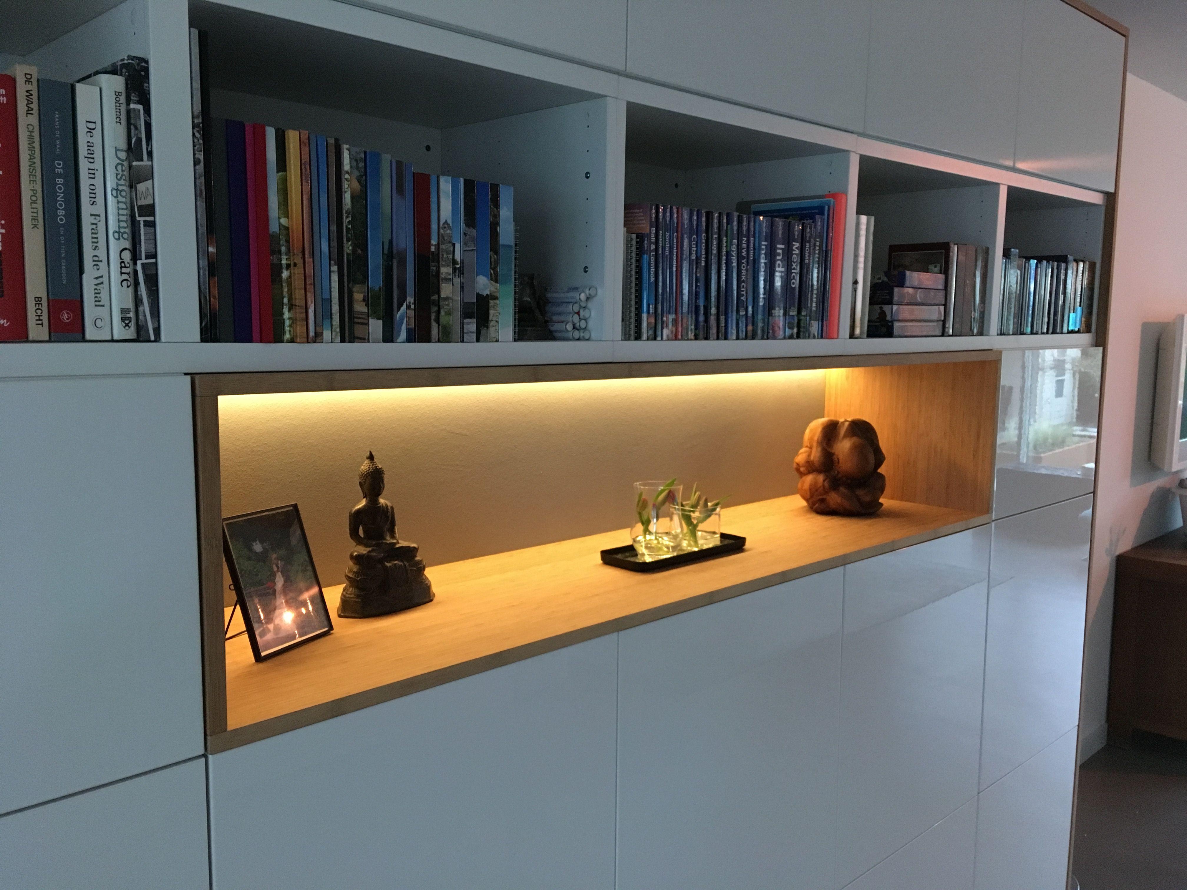 Ikea Besta Kast : Ikeahack ikea besta kast met bamboe ombouw en inbouw ikea in 2019