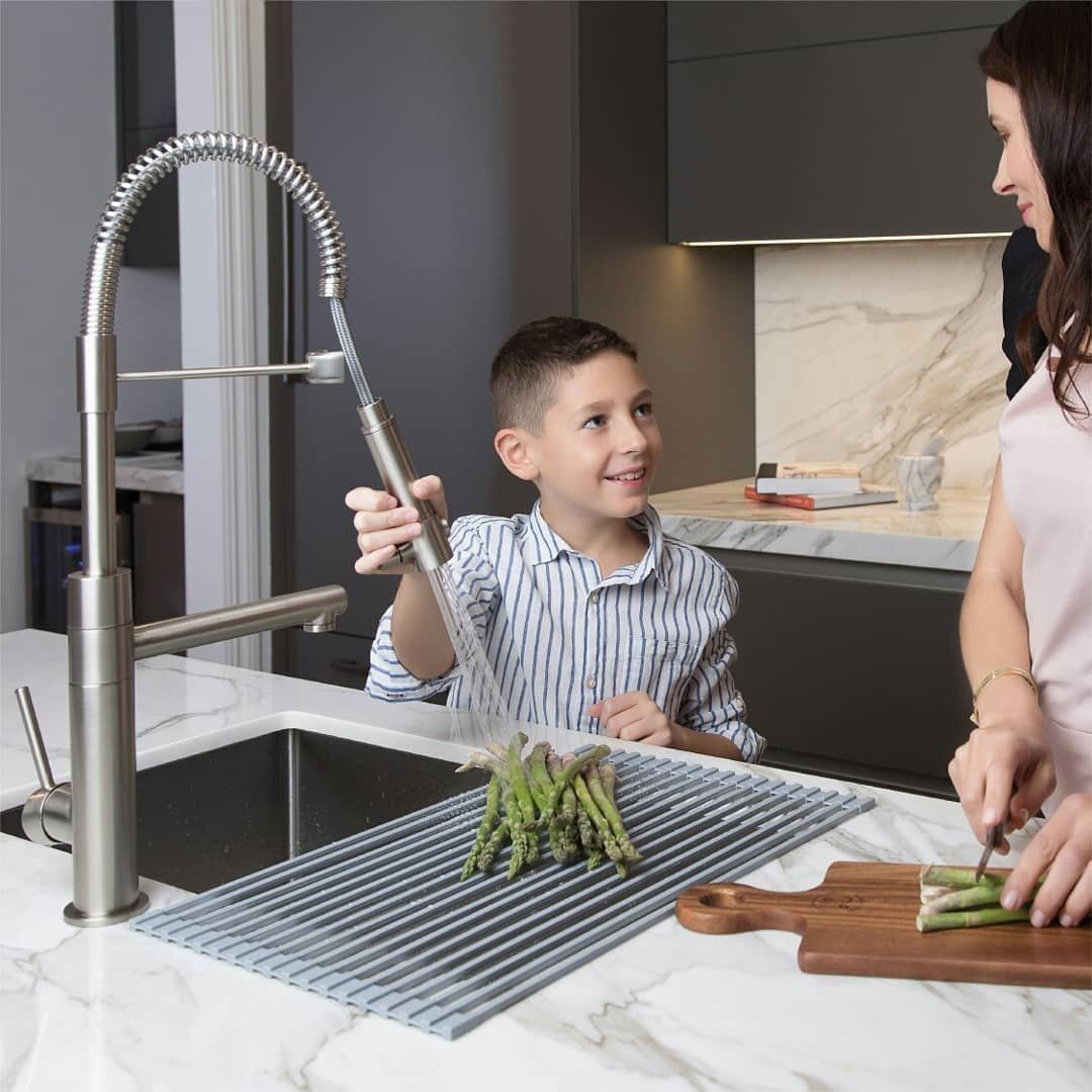 Kitchens Bring People Together Make It Beautiful It S Easy To Do With The Stylish Artec Pro Kpf 1603 Kitchen Fauc Kitchen Faucet Faucet Functional Design