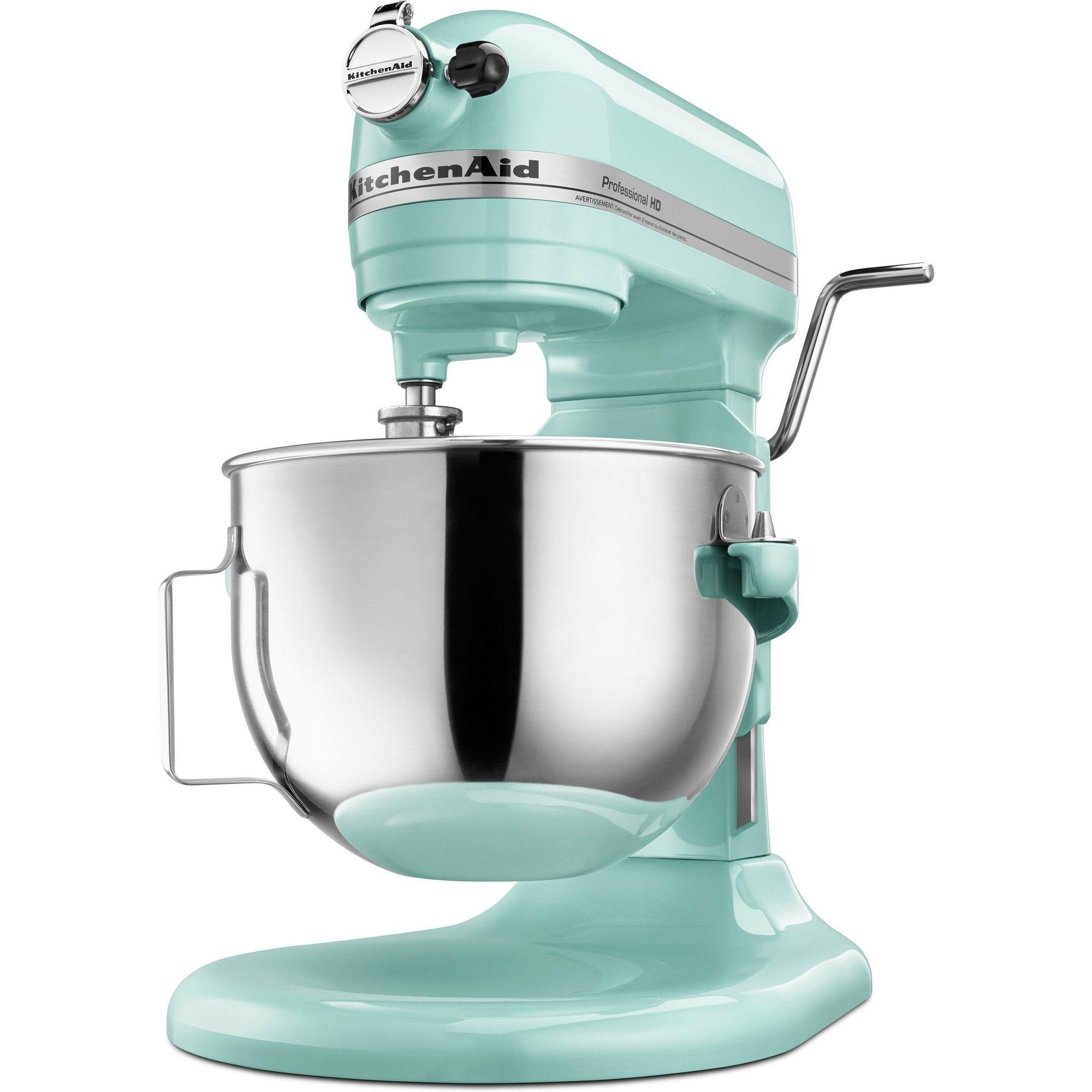 Kitchenaid Refurbished 5qt Bowl Lift Stand Mixer Ice White Rkg25h0xic Kitchen Aid
