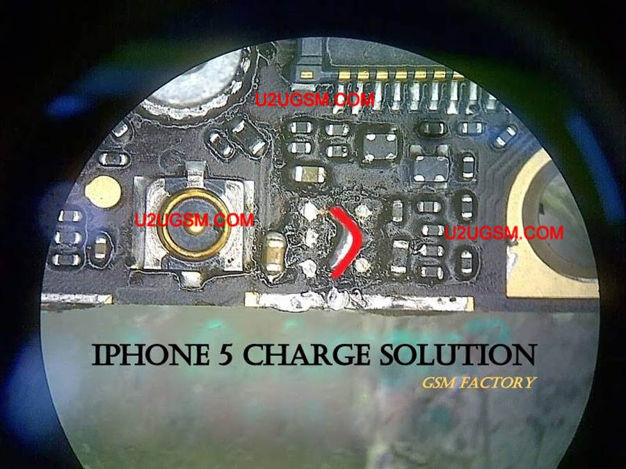 iphone 5 charging solution jumper problem ways charging not rh pinterest com iphone 5 charging diagram iphone 5 charging diagram
