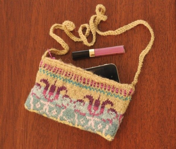 Fair Isle Knit Purse | Fair isles, Fair isle knitting and Purse