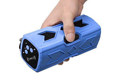 Special Offers - TUPELO Waterproof Sport Speaker Portable Wireless BT Speaker Bass Subwoofer Sound Speaker BT Speakers 4.0 with NFC Built-in Microphone 3600mah Rechargeable Battery(Blue) - In stock & Free Shipping. You can save more money! Check It (August 25 2016 at 05:55PM) >> http://hometheatersusa.net/tupelo-waterproof-sport-speaker-portable-wireless-bt-speaker-bass-subwoofer-sound-speaker-bt-speakers-4-0-with-nfc-built-in-microphone-3600mah-rechargeable-batteryblue/