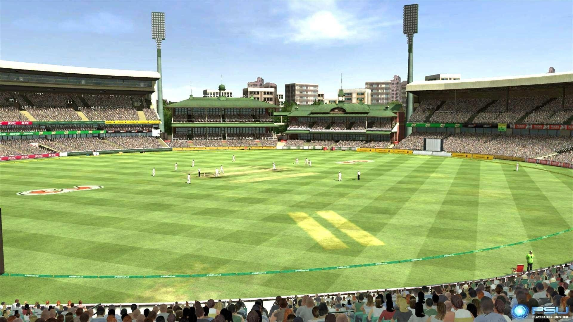 Australian Cricket Stadium Ground High Quality Photo
