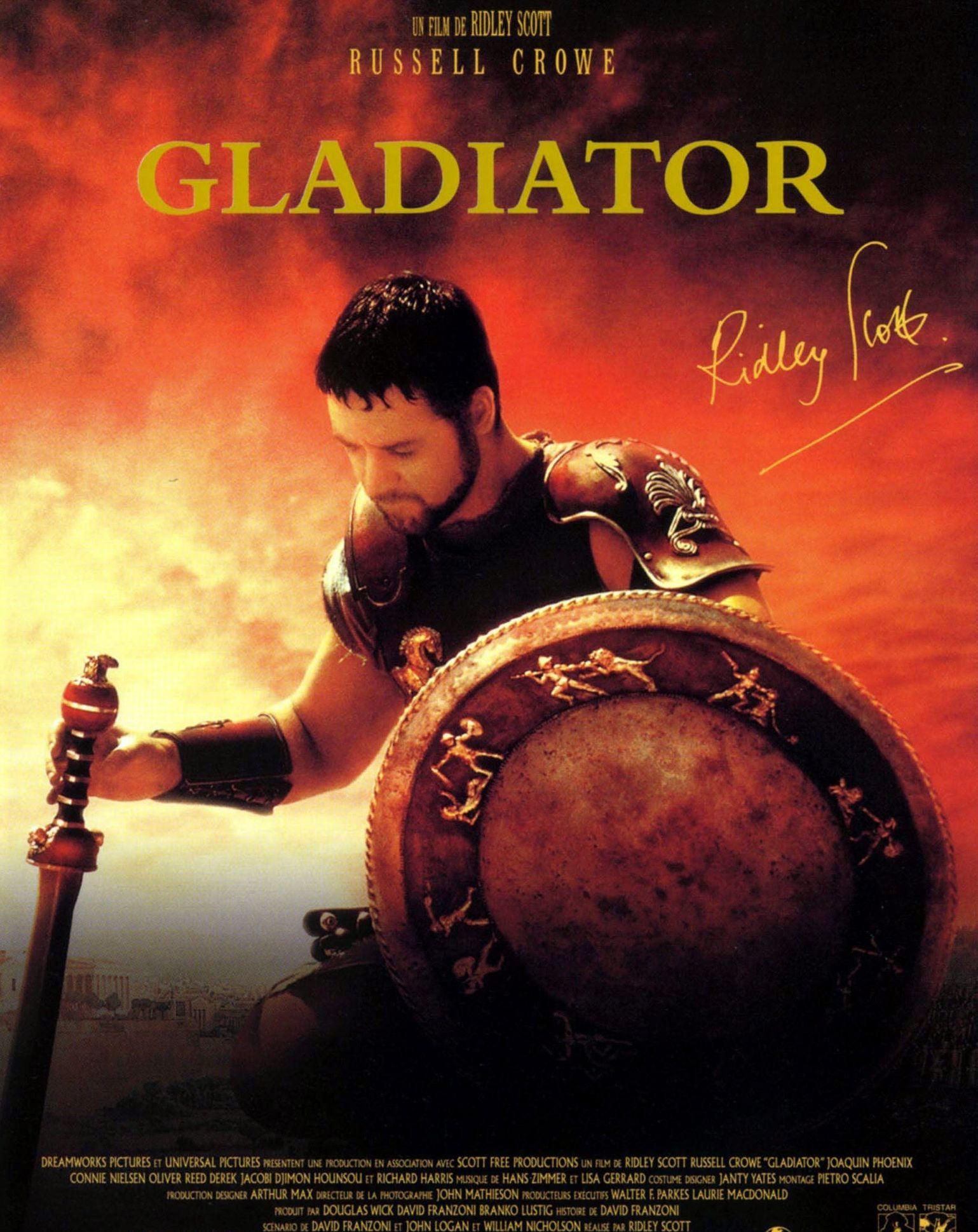 Gladiator - film 1999 | Autres affiches de Cinéma | Pinterest | Films, David hemmings and Oliver ...