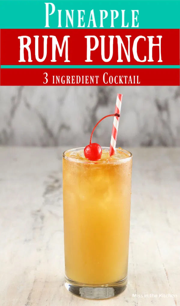 Pineapple Rum Punch Is An Easy Cocktail For Any Party Or Celebration Rum Partypunch Rumpunch In 2020 Pineapple Rum Rum Punch Pineapple Rum Drinks