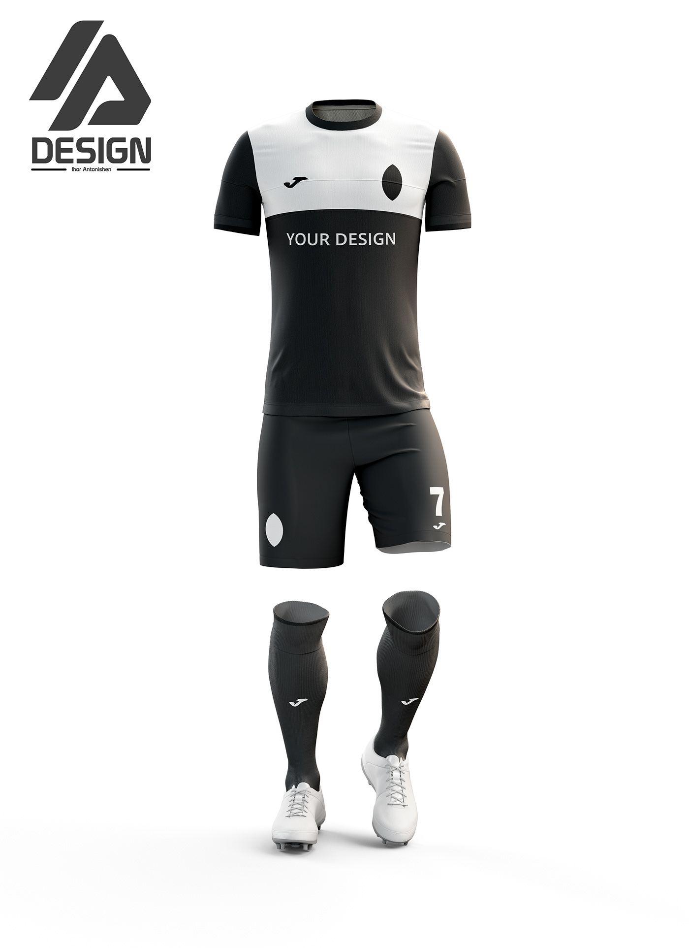 Download Football Kit Free Mockup Football Kits Soccer Shirts Clothing Mockup