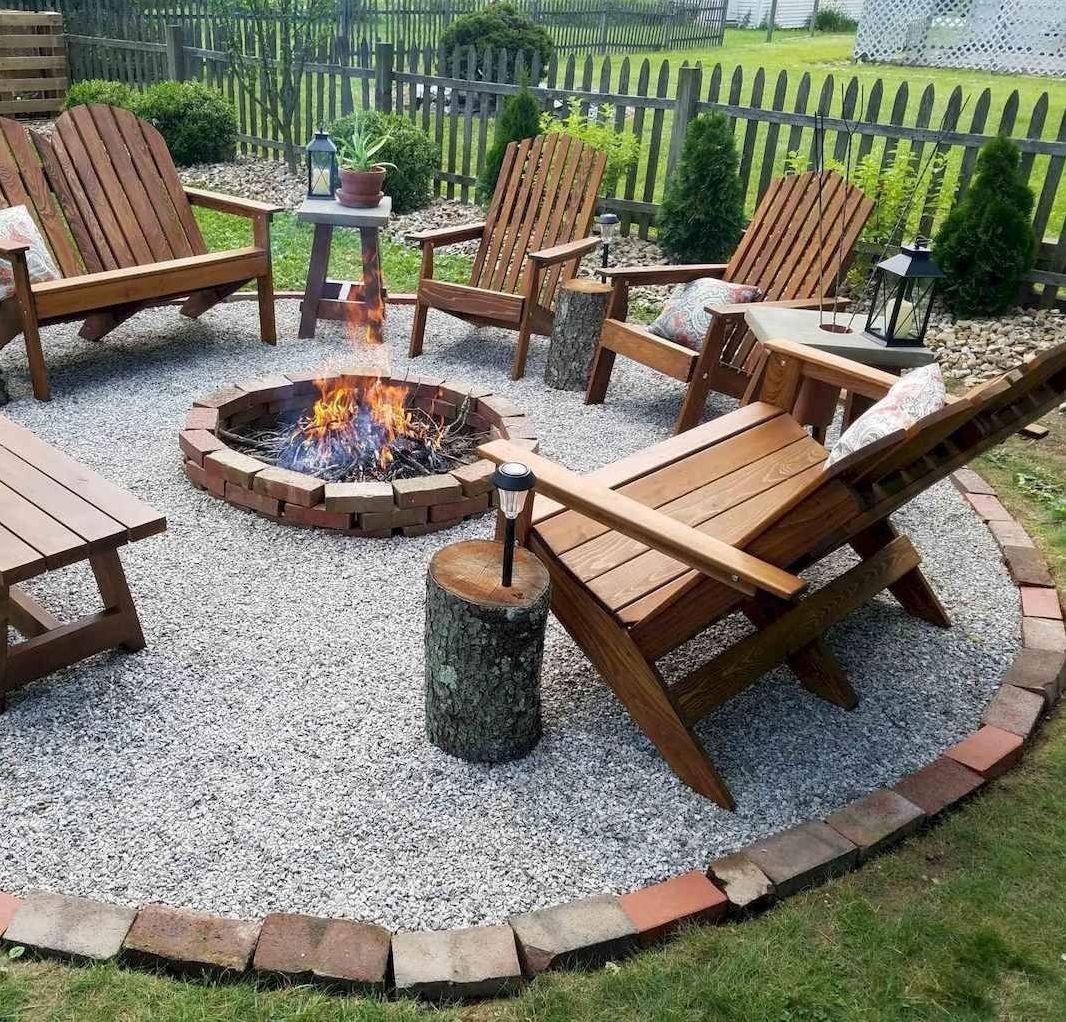 7 Impressive Backyard Fire Pit Design Ideas On A Budget Futurian Backyard Patio Designs Backyard Fireplace Fire Pit Backyard