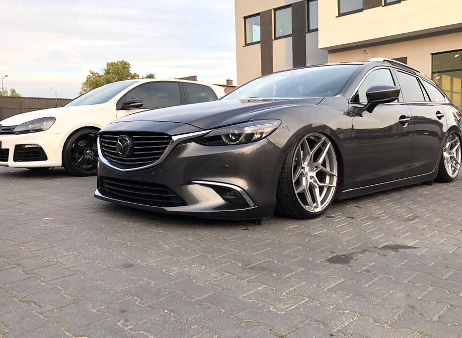 1 2017 6 Mazda Touring Air Lift Performance Air Suspension Rohana Rfx11 Machined In 2020 Mazda 6 Mazda 6 Sedan Mazda 6 Wagon