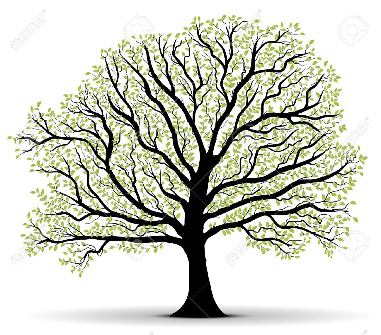 tree trunk silhouette - Google Search | Crafts | Pinterest | Tree ...