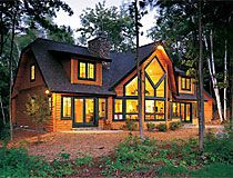 Cedar Home With Black Trim | Log Home Designs / Log Home U0026 Log Cabin Floor