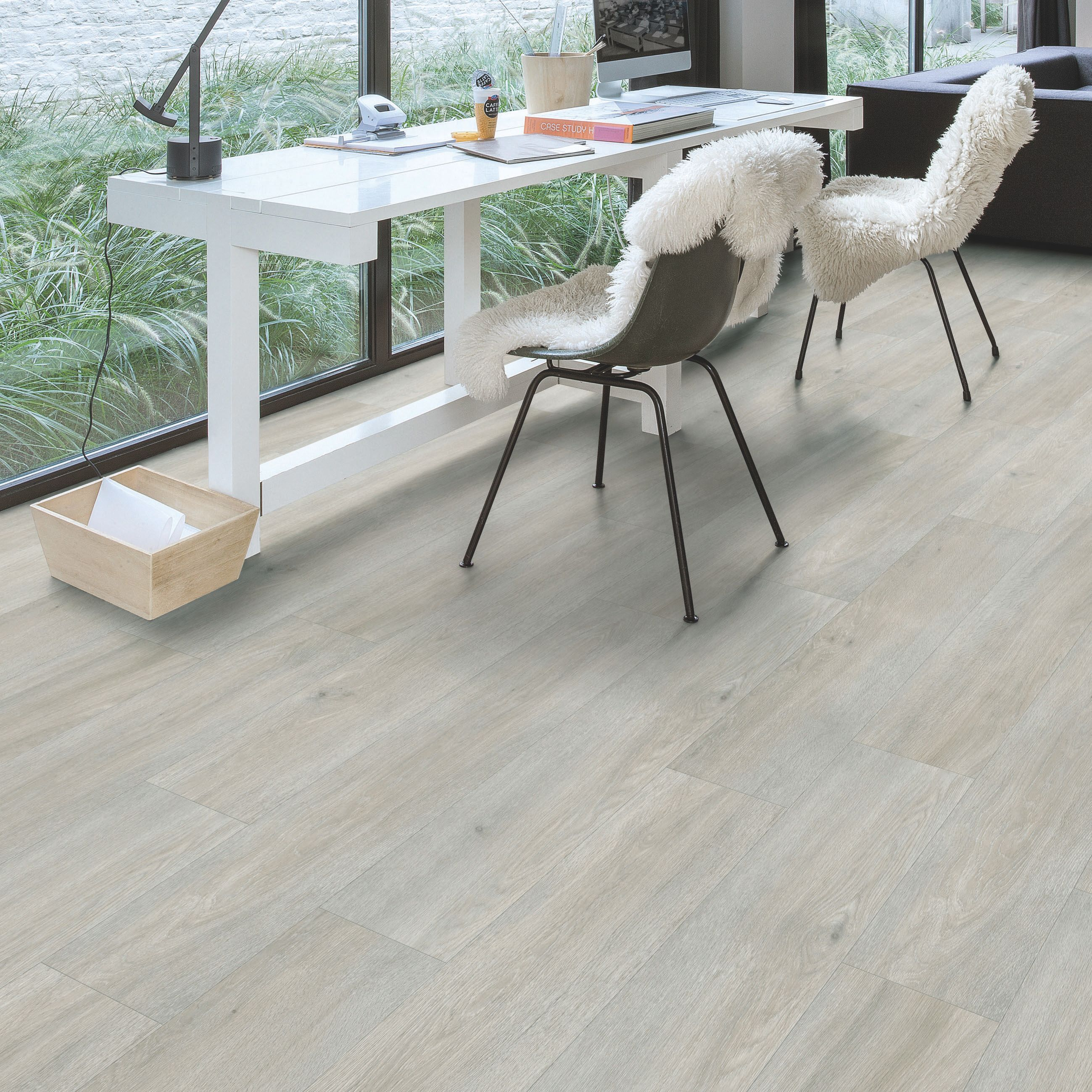 Paso light grey oak effect waterproof luxury vinyl flooring tile paso light grey oak effect waterproof luxury vinyl flooring tile 2105 m pack departments doublecrazyfo Gallery