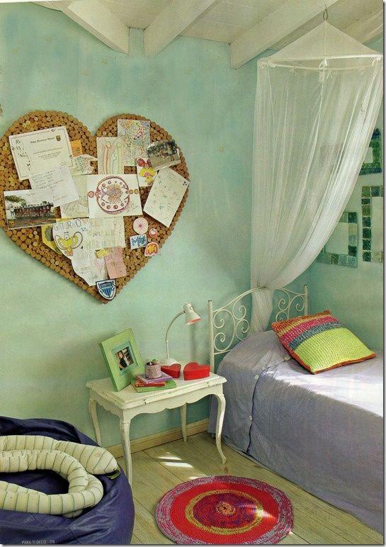 3f28fac3e6f656b1a16583b65c0f6c0b Jpg 545 772 Píxeles Small Room Design Cork Board Bedroom Diy