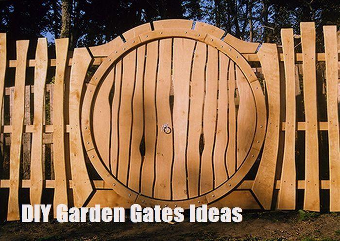 Top 10 Diy Garden Gates Ideas Zaunideen Top 10 Diy Garden Gates Ideas Garden Gates Fence Design Backyard Fences