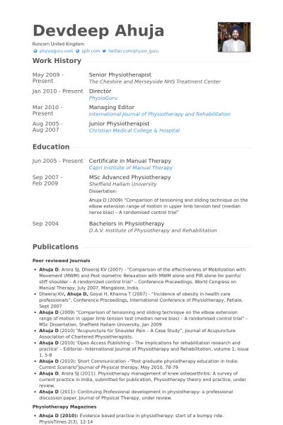 resume format senior management
