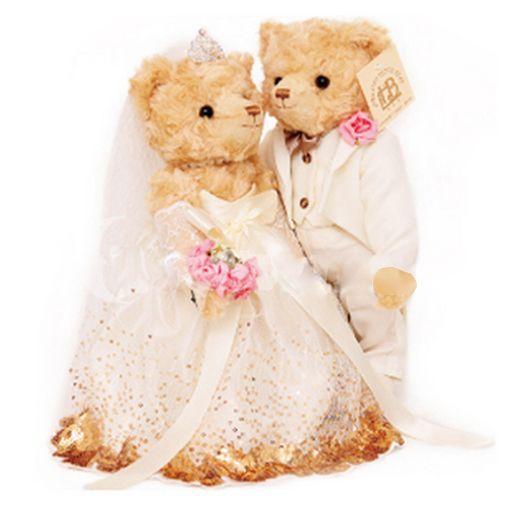 91e389c97e7 Romantic Wedding Teddy Bear