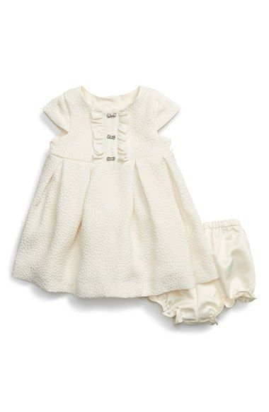 Pippa+&+Julie+Cap+Sleeve+Dress+&+Bloomers+(Baby+Girls)+available+at+#Nordstrom