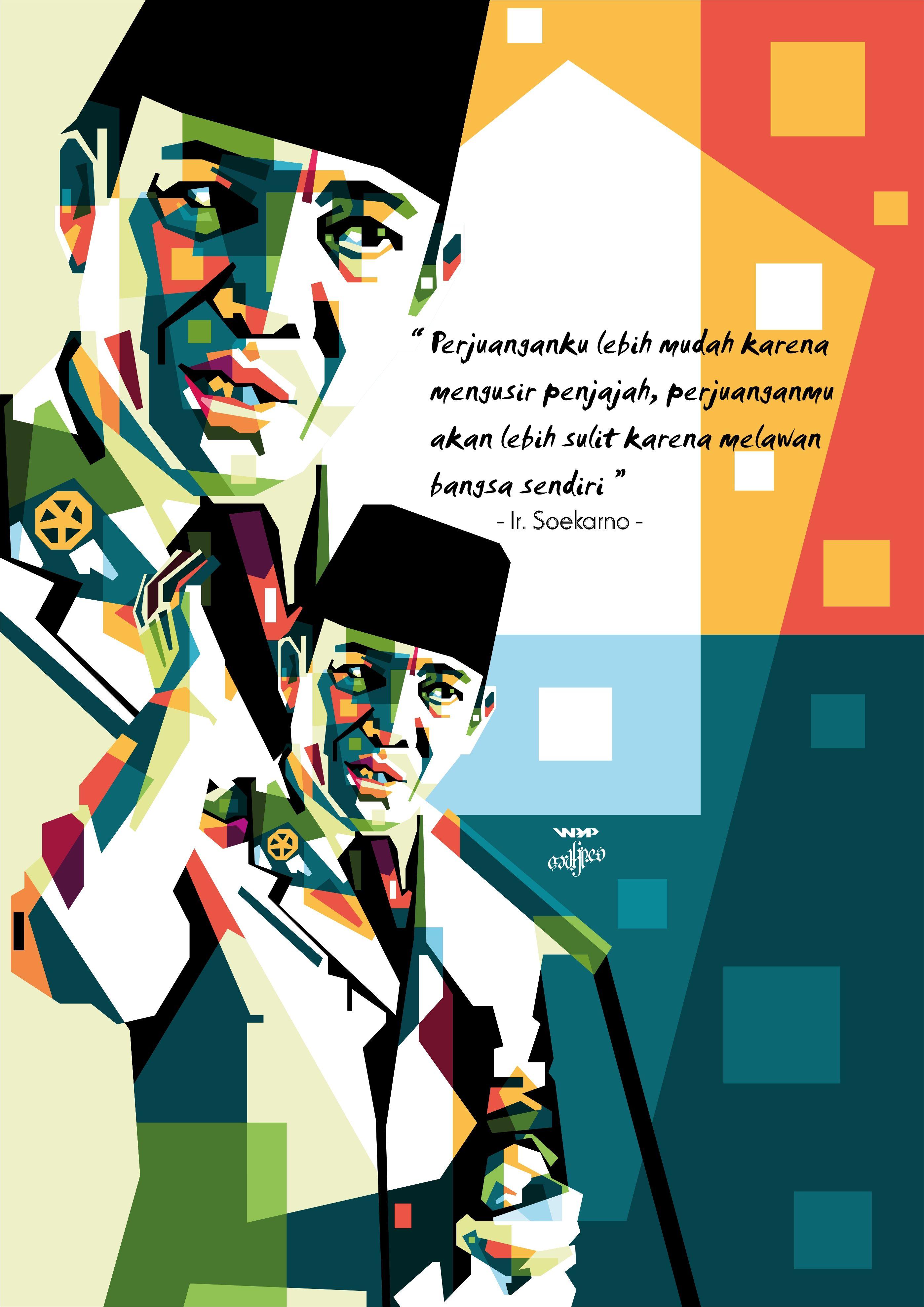 Gambar Pahlawan Nasional Ir Soekarno