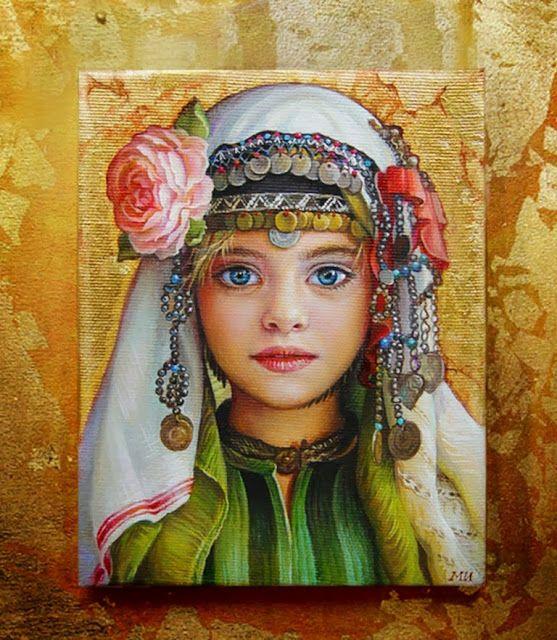 Bodegones y Retratos con Flores, Maria Ilieva, Bulgaria. | Imágenes Arte Temático