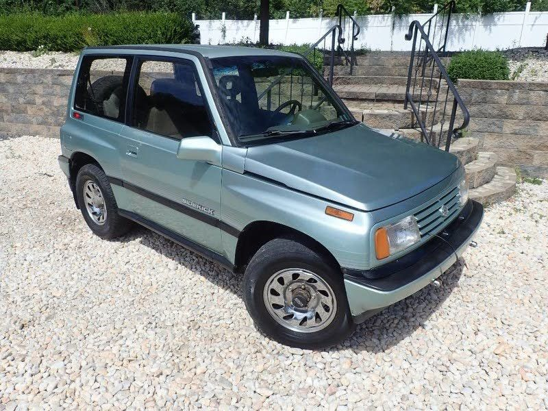 1989 Suzuki Sidekick Jx 2 Door 4wd 3 900 Cargurus Suzuki Dream Cars Used Cars