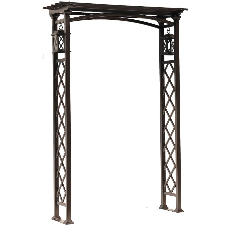 Captivating Garden Treasures W X H Brown Vaulted Garden Arbor. Just Got This For My  Garden, On Clearance At Lowes.