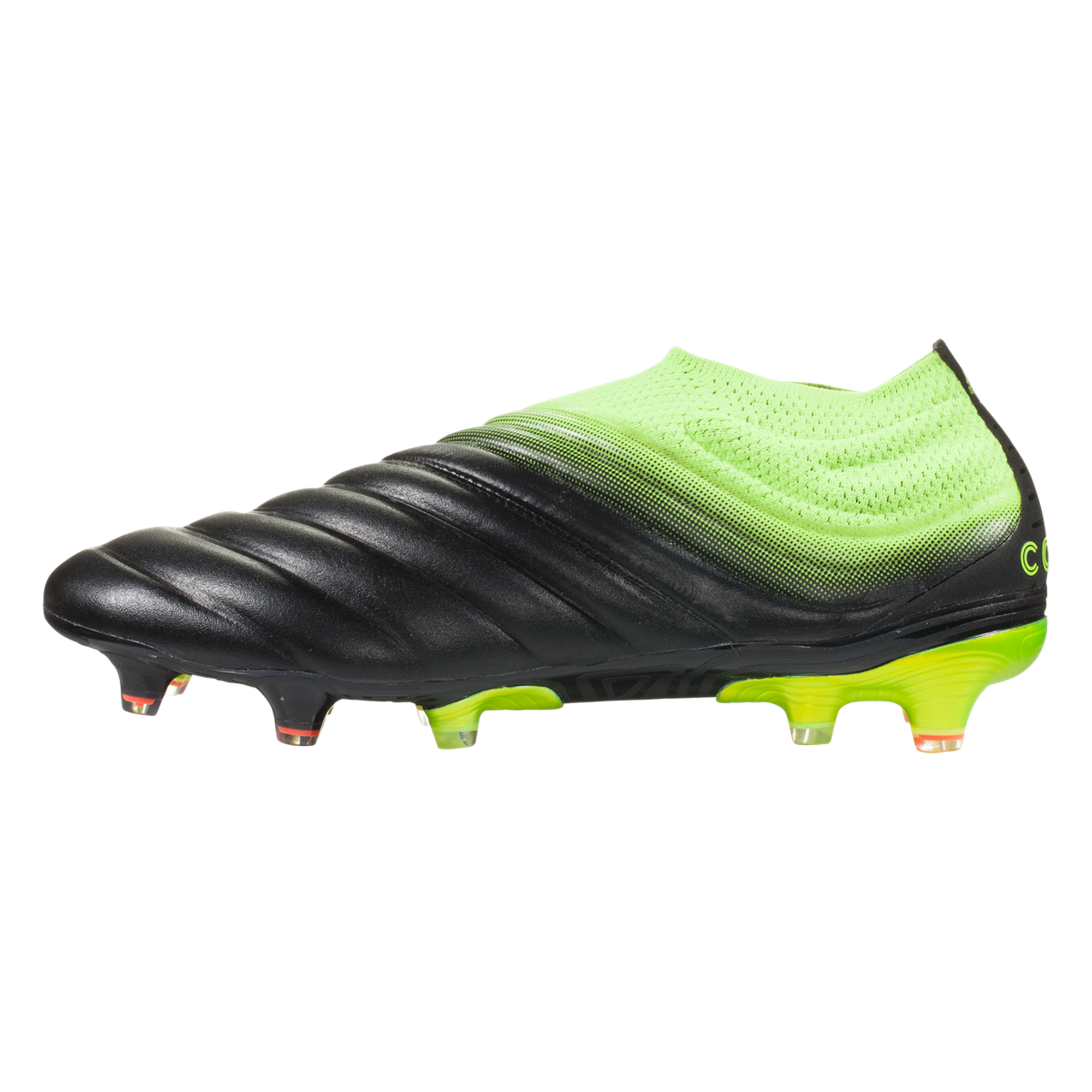 Adidas Copa 19 Fg Firm Ground Soccer Cleat Black Yellow Black Soccer Cleats Cleats Yellow Black