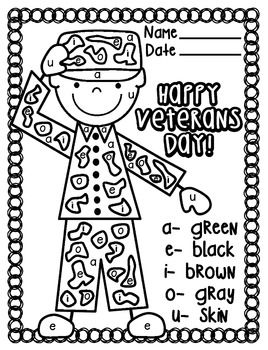 Veteran S Day Printable Coloring Page Veterans Day Coloring Page