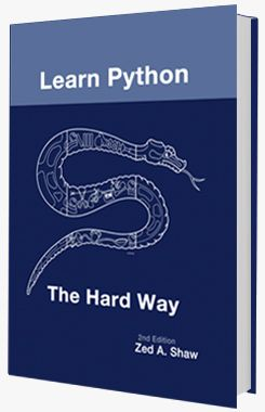 Learning Python The Hard Way Python Learn Python Free Learn Programming