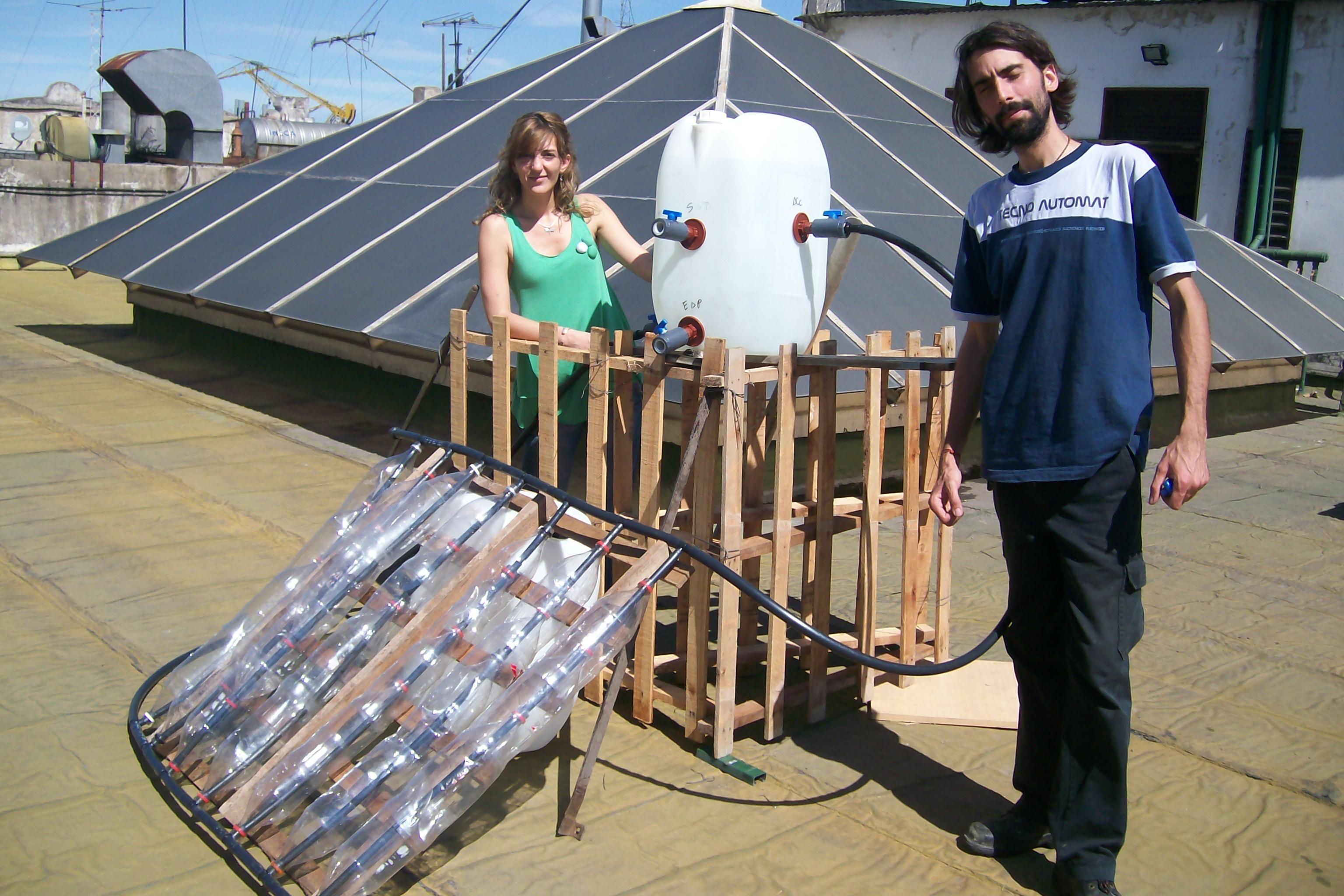 Como construir un calentador solar casero con botellas de - Plastico inyectado casero ...