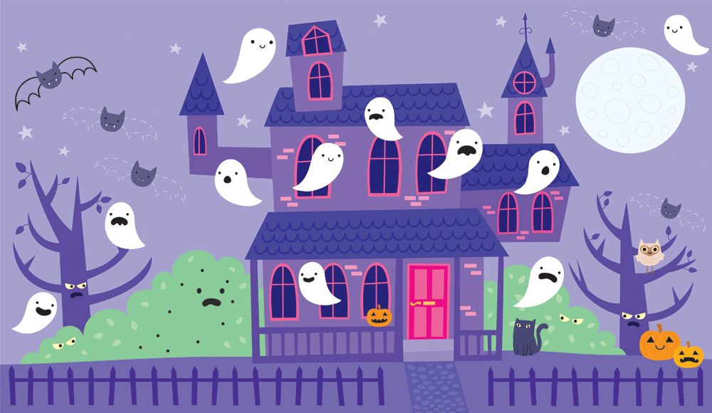 Spooky Activity and Stickers
