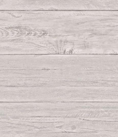 Soft shades of grey faux shiplap wallpaper design looks