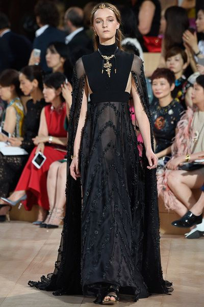 Valentino Fall 2015 Couture collection.
